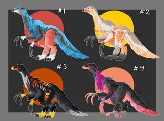 therizinosaurus adopts (OPEN 1\4) by Savage-Mojo