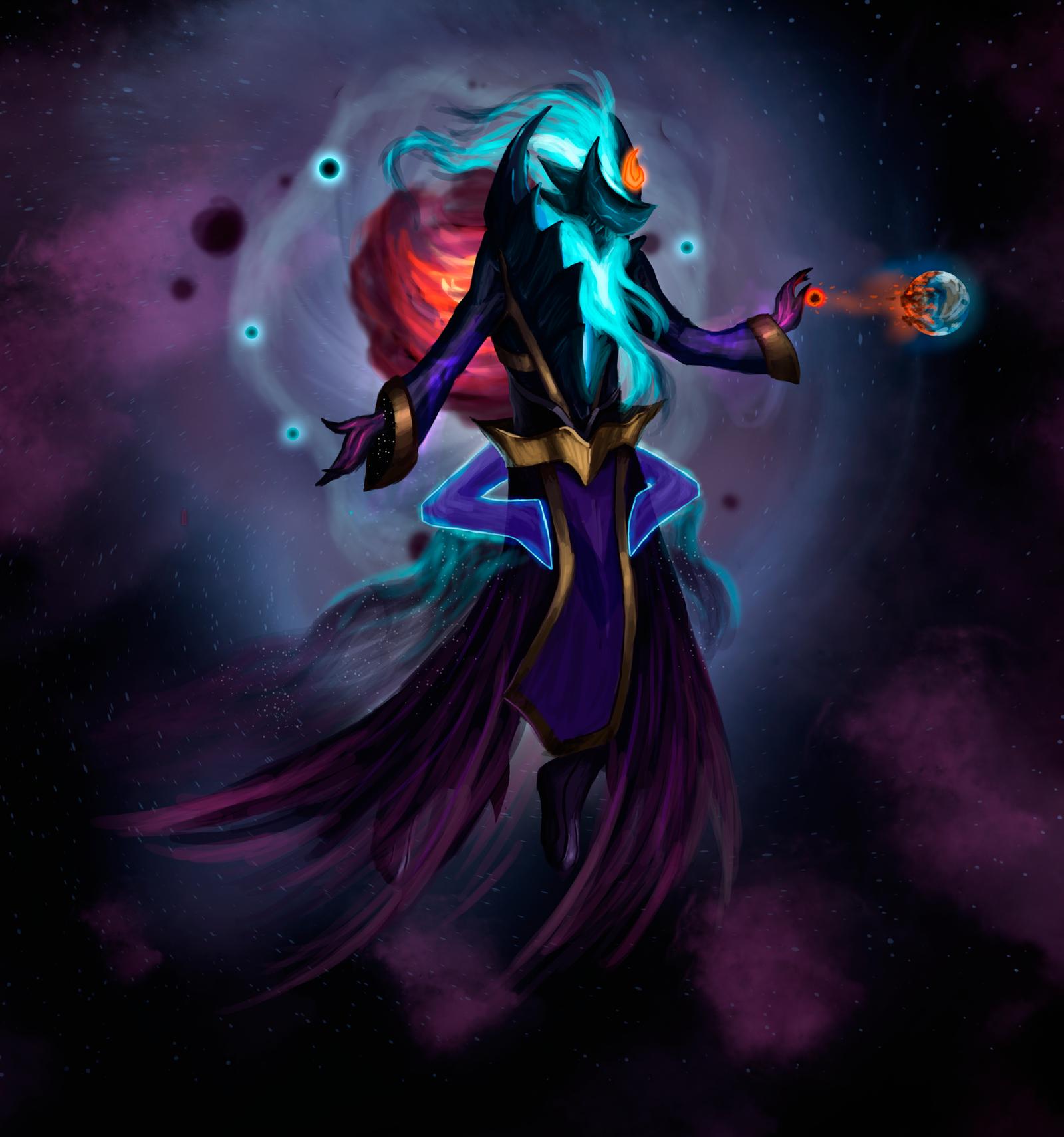Dark Star Zilean by SlownDamn