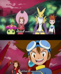 Digimon Xros cameos by Rangertamer