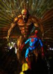 SPIDER-MAN VS ARACHNOS THE MAN SPIDER