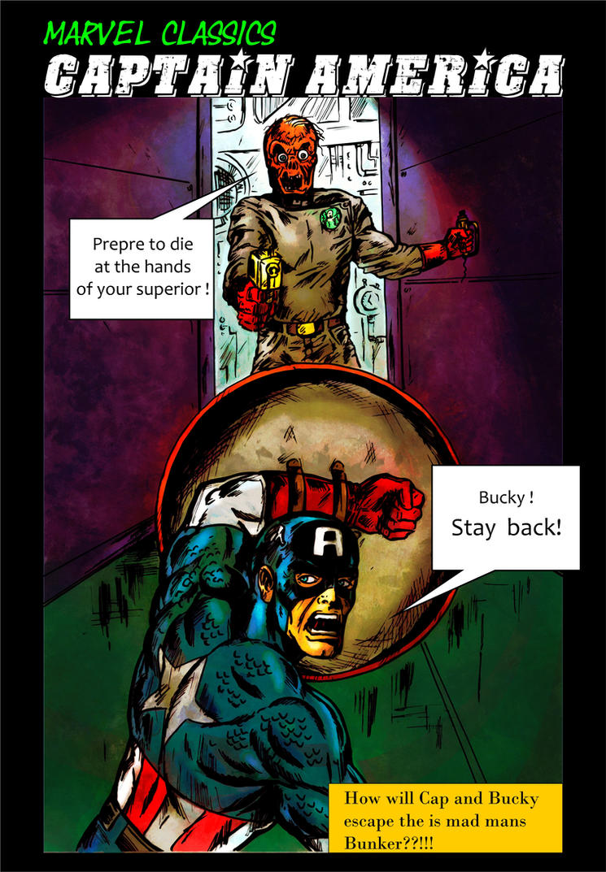 Captain America vs The Red Skull Book 3 by masuros