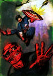 Captain America vs The Red Skull 2016