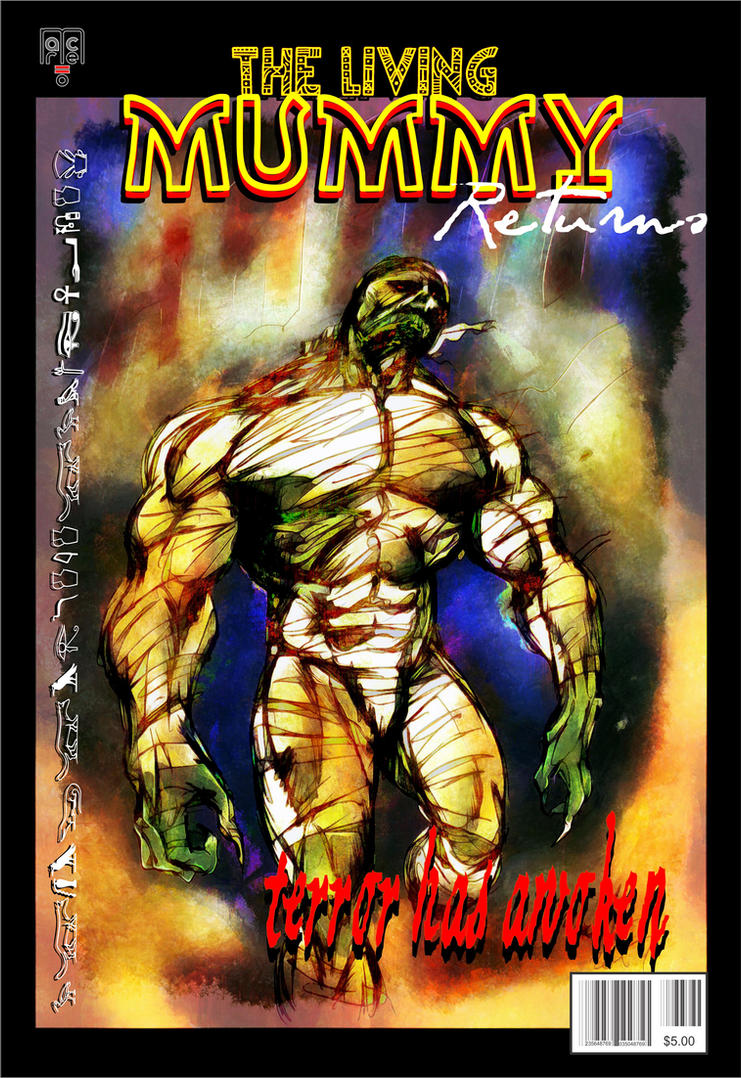The Living Mummy Returns by masuros