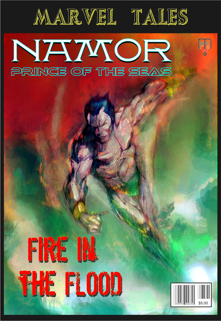 Namor Fire In The Flood by masuros