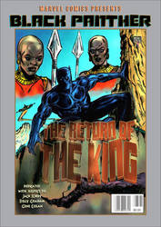 Black Panther Cover  Version1