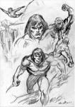 Tarzan SKETCHS2021 by masuros