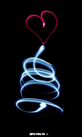 HeART Lightpainting