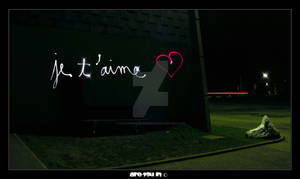Love - Lightpainting