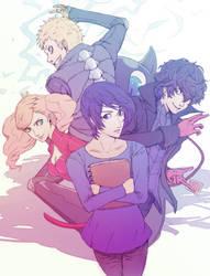 Polythieves Zine Piece: Let's Save Yusuke! by datcravat