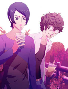 Akira and Yusuke!