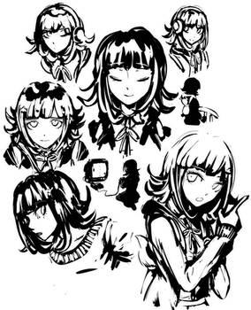 Chiaki Nanami Warmups!