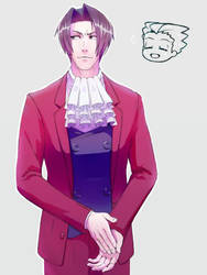 Miles Edgeworth the absolute unit