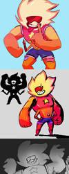 Sunstone doodles by datcravat