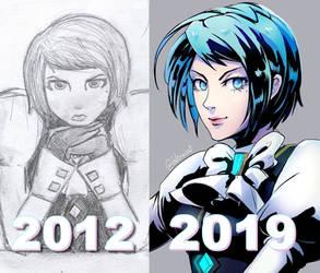 7 years Art Improvement w/ Franziska von Karma