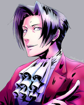COMMISSION: Miles Edgeworth