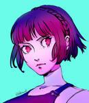 Patreon Sketch: Makoto by datcravat
