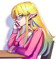 College Zelda Sketch