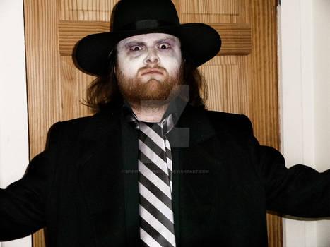 Original Mortician Debut 1990 Undertaker Cosplay by SpiritOfTheWolf87
