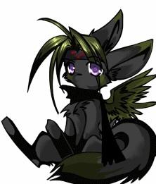 Envy Foxform by Sadgreywolf