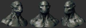 concept Sculpt 02 by mojette