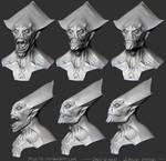 October's alien mouth shapes