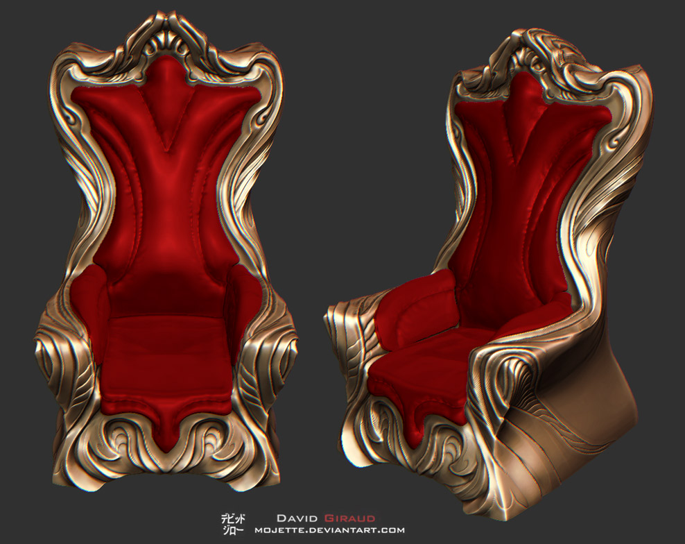 Throne Design by mojette
