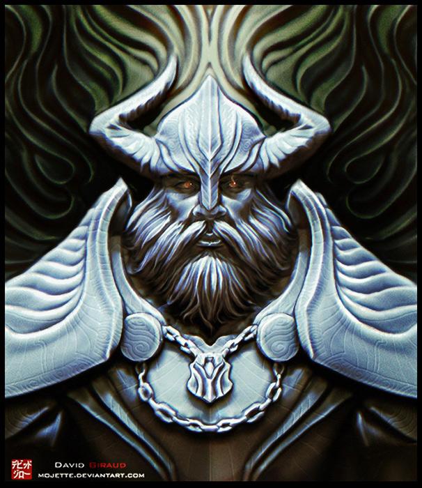 Odin by mojette on DeviantArt