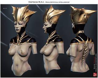 Empress M.A.I by mojette