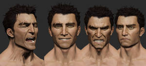 Facial Expressions Zbrush