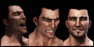 Facial Expressions renders