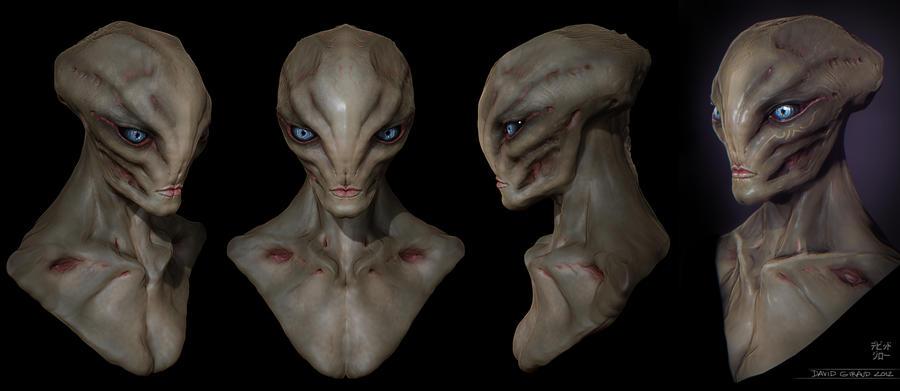 Female Alien by mojette