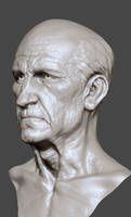 Zbrush face old by mojette
