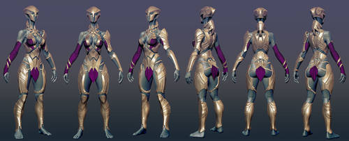 Phobos alien armored by mojette