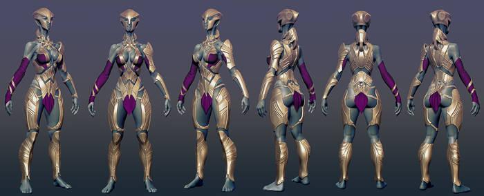 Phobos alien armored