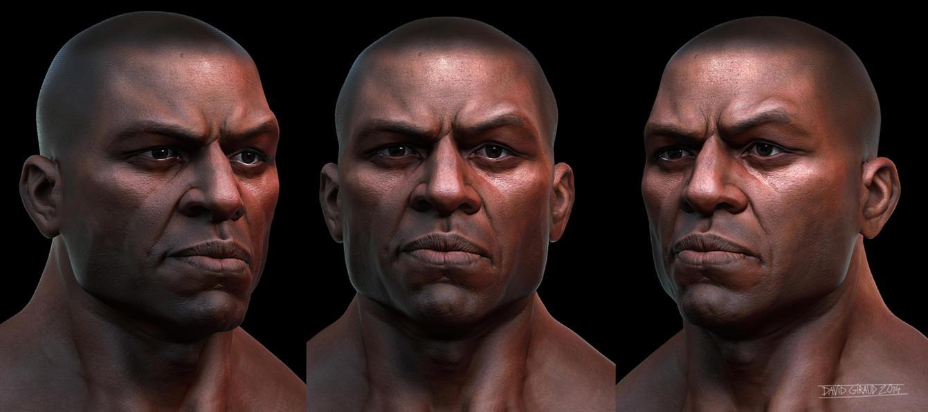 Black Guy Keyshot2 by mojette