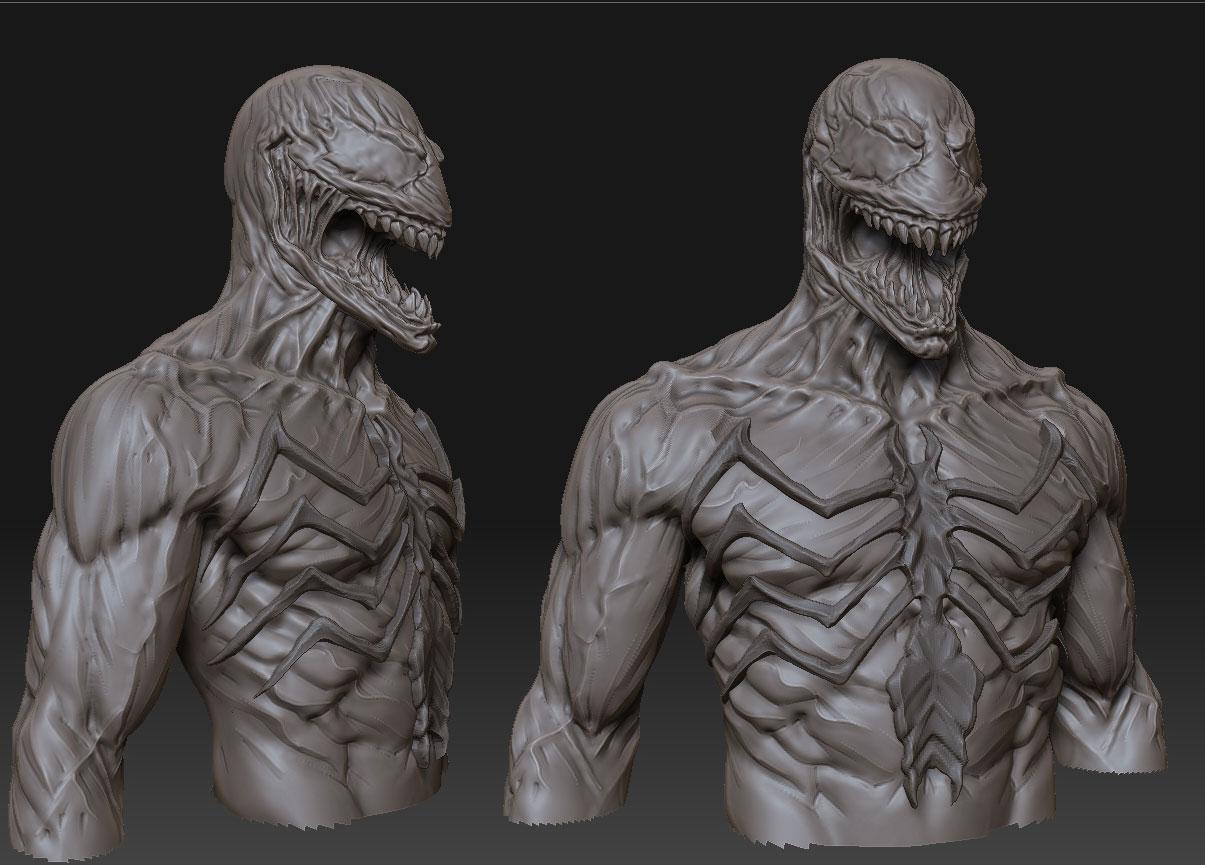 Venom W.I.P. by mojette