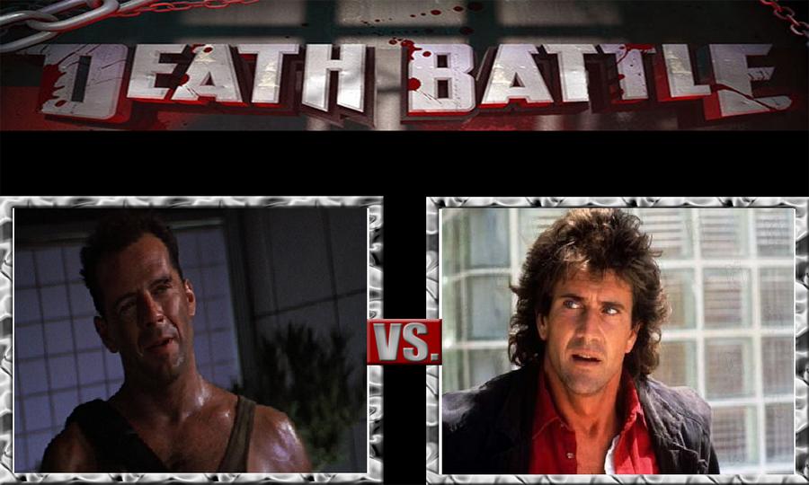 Johnny\'s Christmas DB 2-McClane VS. Riggs by JohnnyOTGS on DeviantArt