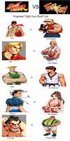 Street Fighter VS. Fatal Fury Characters
