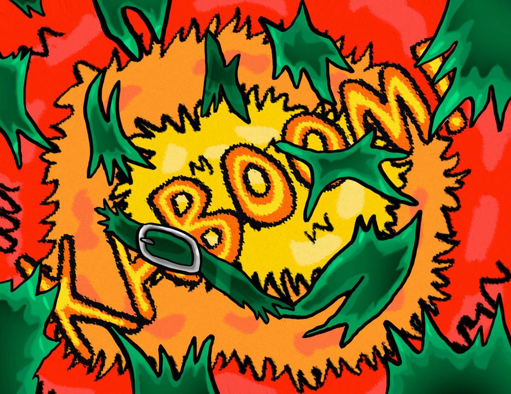 Shiny Happy Aquazon's Big Pop! Page BOOM! by pigsofdoom