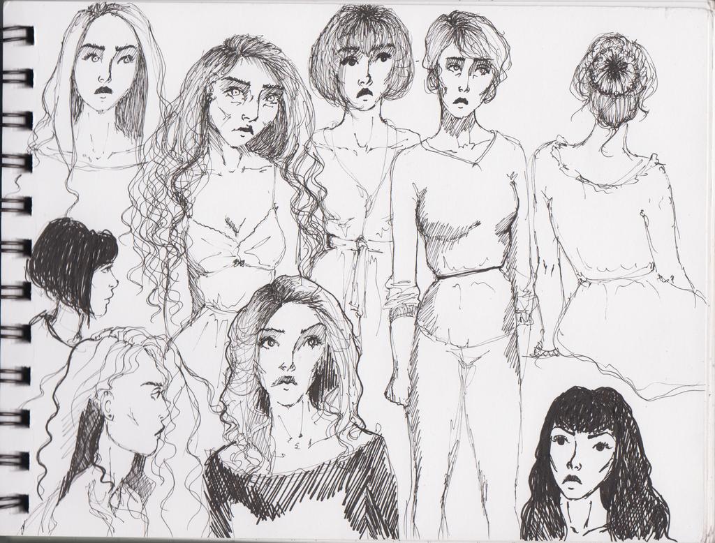 random sketch by D-ragonstone