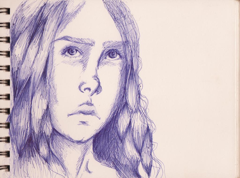 Girl by D-ragonstone