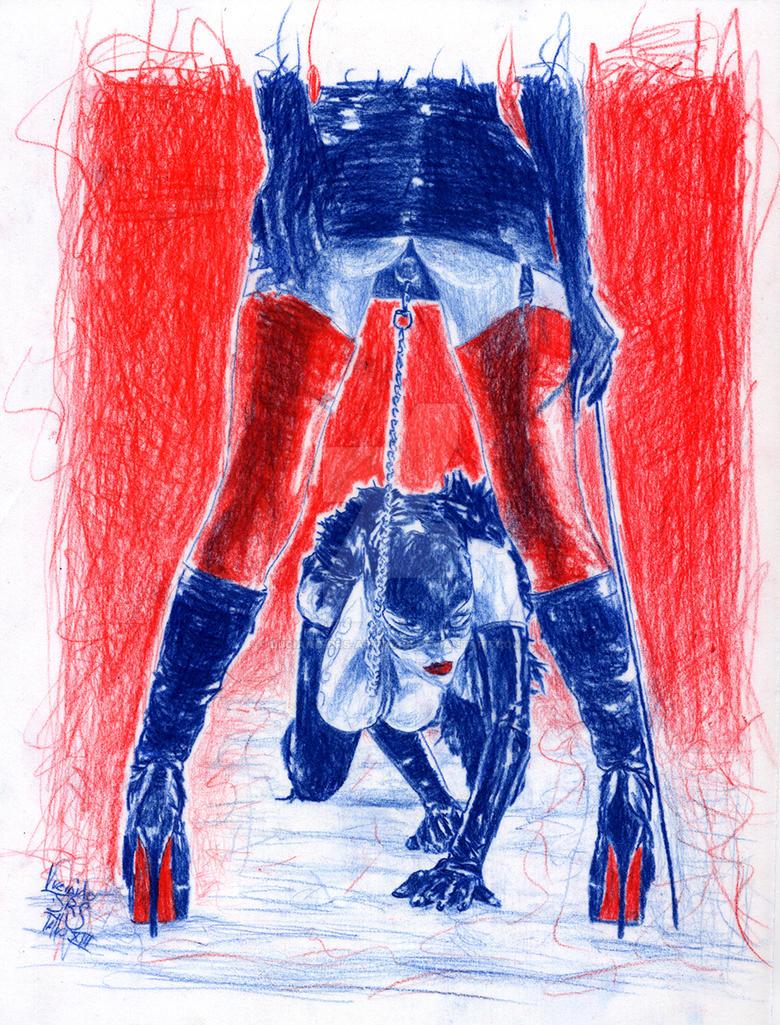 bondage art sex abenteuer
