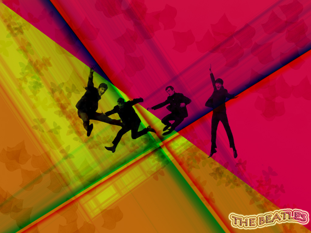 The beatles wallpaper by mirymdza on deviantart the beatles wallpaper by mirymdza voltagebd Choice Image