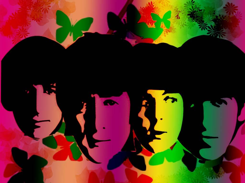 The Beatles Watching Rainbows