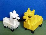 Lego Llamas