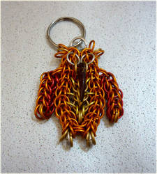 Owl Keyring by squanpie