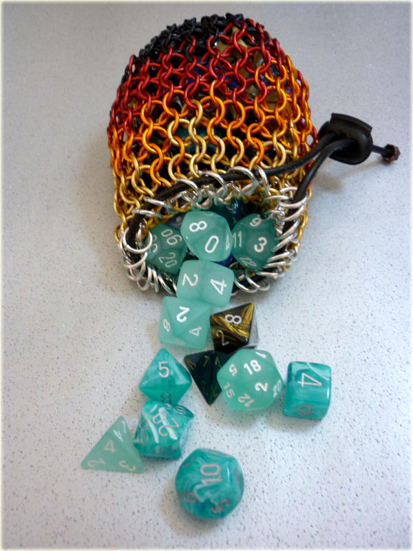 Dice bag by squanpie on DeviantArt