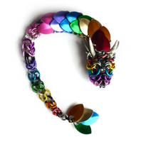 Rainbow Dragon by squanpie