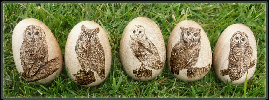 Wooden Eggs Craft Shop