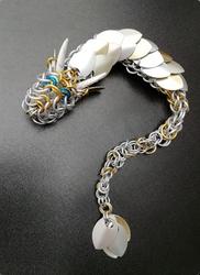 White gold dragon